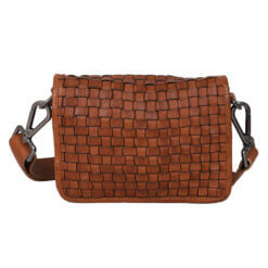 ADAX Sofia Cognac Corsico Shoulder Bag