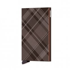 Cardprotector Laser Zigzag Brown