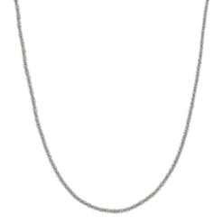Tinsel Necklace 50 cm Steel