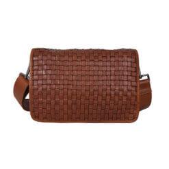 ADAX Sara Cognac Corsico Shoulder Bag