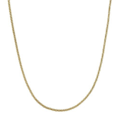 Tinsel Necklace 50 cm Gold
