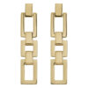 Deco Earrings Gold