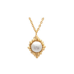 Lily And Rose MISS BONNIE PEARL NECKLACE - IVORY