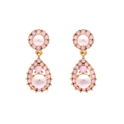 Lily And Rose Sofia pearl earrings - Rosaline