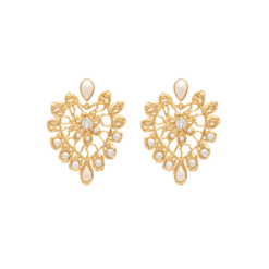 Lily And Rose Edith earrings - Ivory and pearl