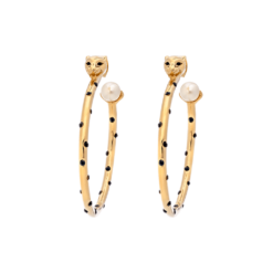 Lily And Rose QUEEN SHEBA HOOPS EARRINGS – GOLD