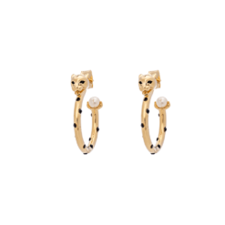 Lily And Rose PETITE SHEBA HOOPS EARRINGS – GOLD