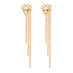 Lily And Rose THE LION QUEEN EARRINGS – GOLD