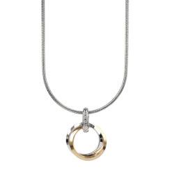 CAROLIN Kort Halsband Guld