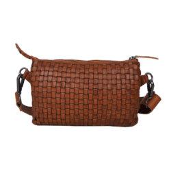 ADAX Astrid Cognac Corsico Shoulder Bag