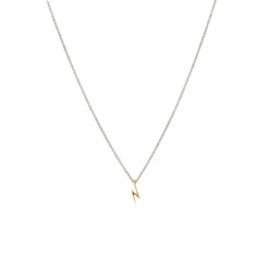 Syster P Snap Necklace Flash Silver