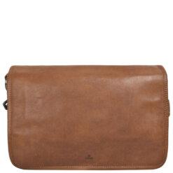 ADAX Pippa Cognac Pixie Shoulder Bag